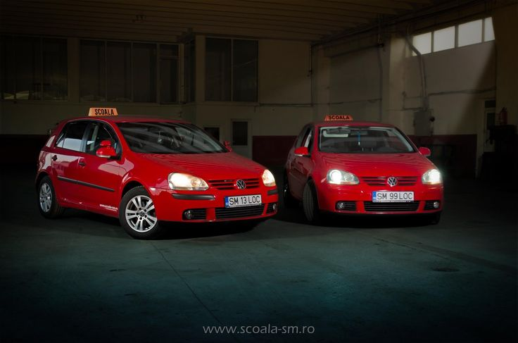 Scoala de soferi / instructor auto / cat B / Satu Mare / VW Golf 5