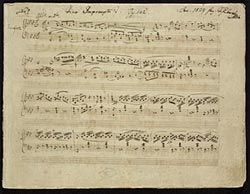 Schubert, Franz, 1797-1828. Impromptus, piano, D. 935 . Four impromptus for piano, D. 935 (op. 142) : autograph manuscript, 1827 Dec.