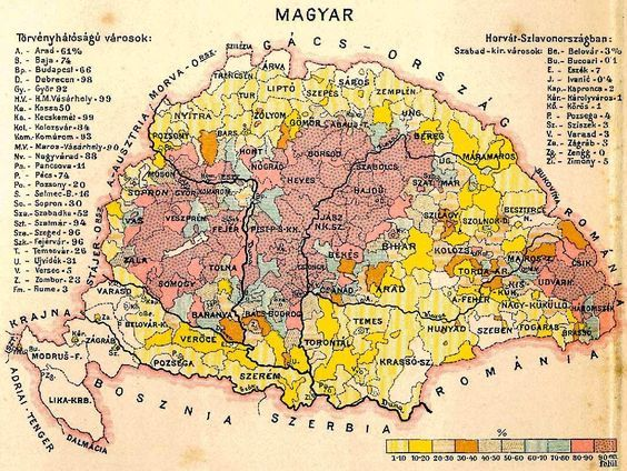 Magyars in Hungary (1890)