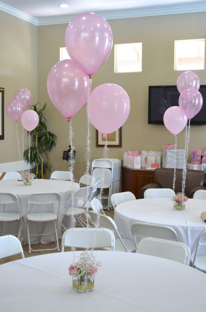 Homemade baby shower centerpieces for tables