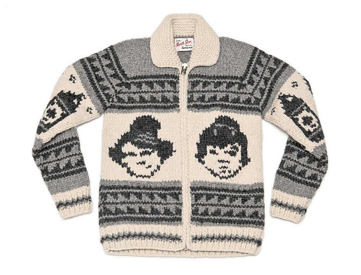 great white north sweater. Bob and Doug! Merry Christmas to me?