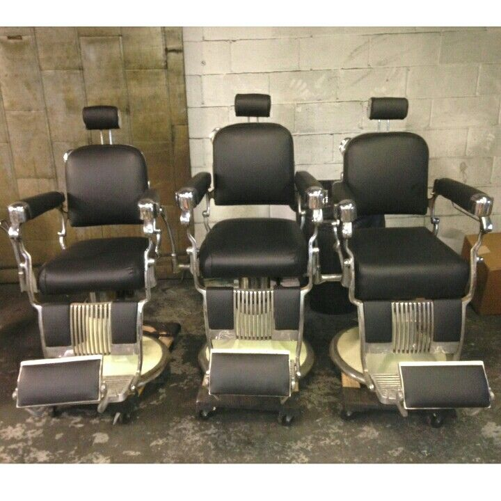 268 best images about Antique barber chairs on Pinterest