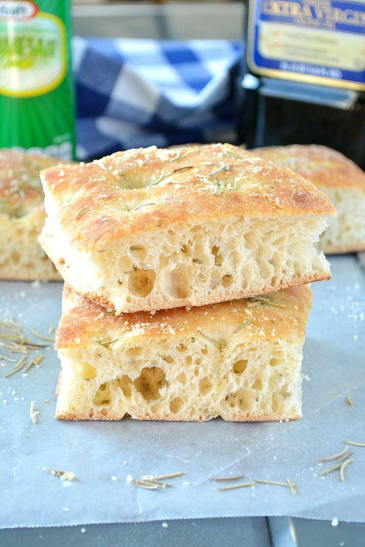 Focaccia bread recipe – Ruchi's Kitchen