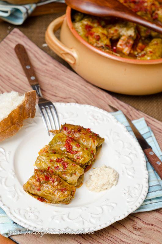 Sarmale in foi de varza murata | Dulcegarii culinare