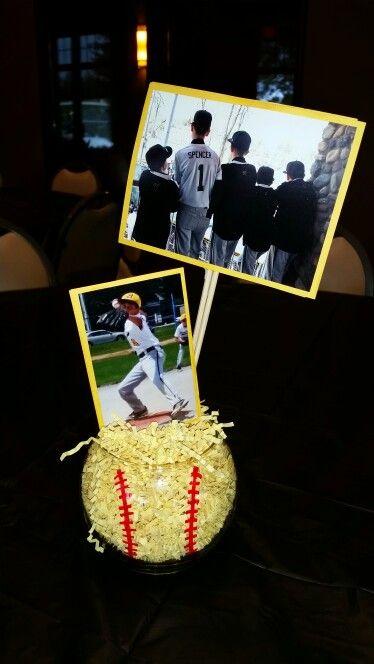 Baseball Fundraiser decorations