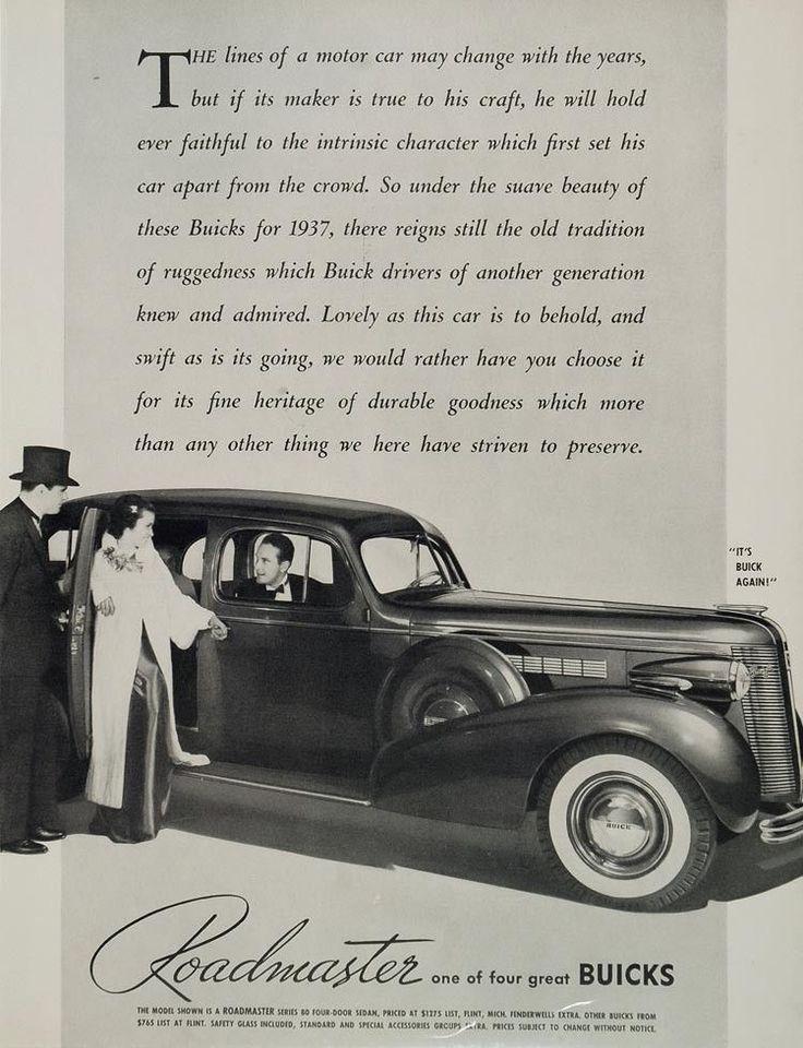 63 best Auto: Buicks images on Pinterest   Old school cars, Vintage ...