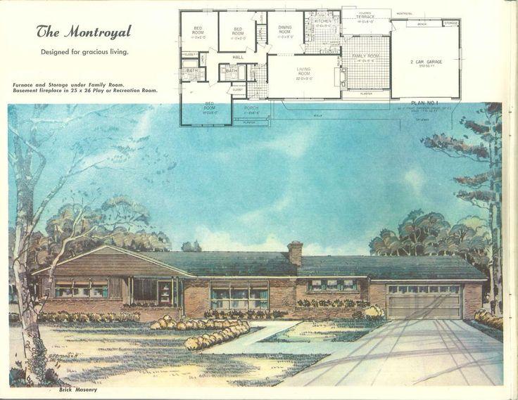 1958 Home of color : custom designed plans of merit