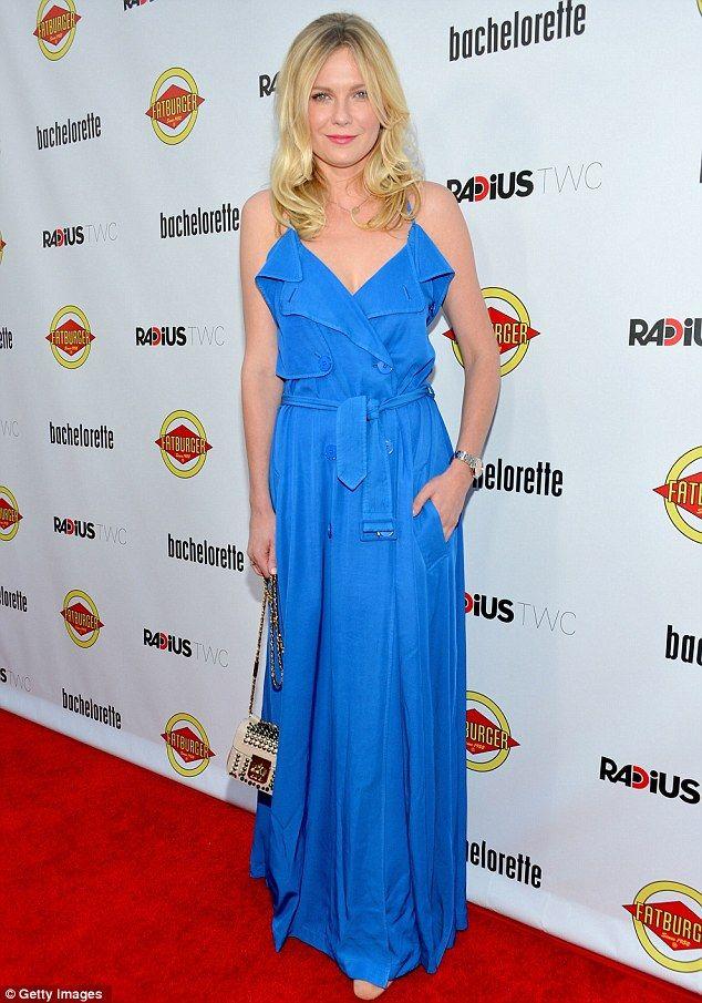 Kirsten Dunst. Bachelorette Premiere.
