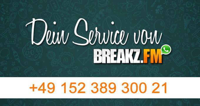 WhatsApp Service – Wir informieren Dich direkt auf dein Handy  Unser WhatsApp Service bietet euch den direkten Kontakt zu uns. Siehe direkt wann dein Lieblings DJ OnAir geht. Doch viel wichtiger ist für euch an dieser Stelle vielleicht, dass ihr nun auch den direkten Draht zu uns habt. Wir möchten euch in Zukunft einen noch besseren und schnelleren Support #015238930021 #Breakzfm #Deejay #DJOnAir #Handy #Informieren #Internetradio #Kontakt #Mix #News #Support #Webradio