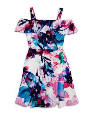 Bardot Junior Girls' Arabella Off the Shoulder Dress - Sizes 8-16 | Bloomingdale's
