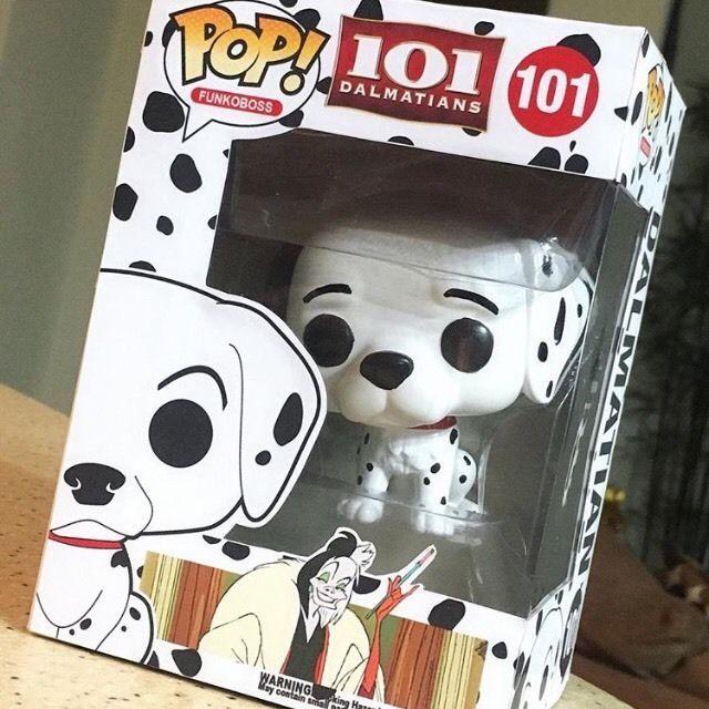 Custom Funko Funko Pop! Pop Disney 101 Dalmatians !