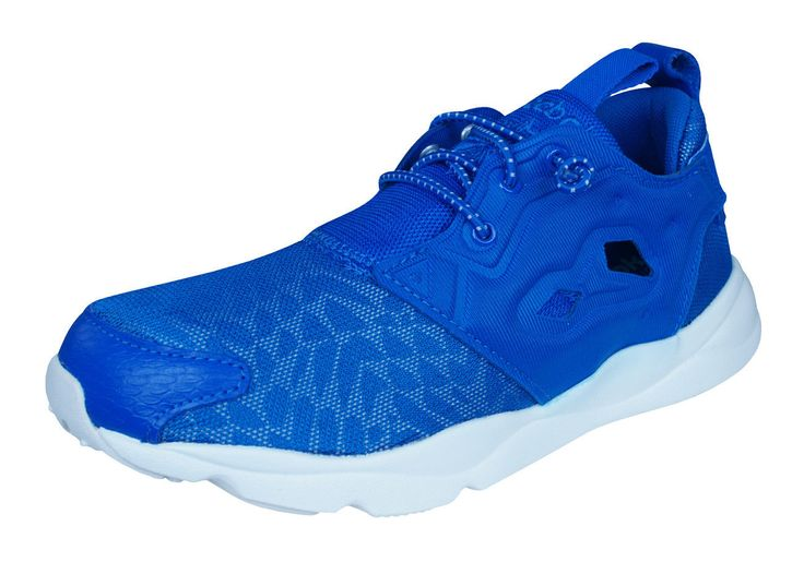 Reebok Classic Furylite Contemporary Womens Sports Sneakers - Blue