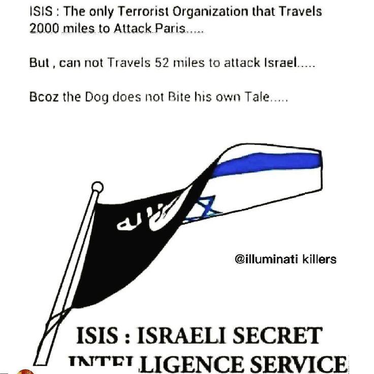 #Isis = israel secret intelligence service  THOUGHTS??!! #londonterroristattack  #prayforvegas #anon_truth  #thebest  #truth  #media  #theresistance #Repost @harunelbinawi with @repostapp  #ISIS #ParisAttacks  #ParisShooting #Israel #Zionism #Palestine #ThirdIntifada#ThirdIntifadau