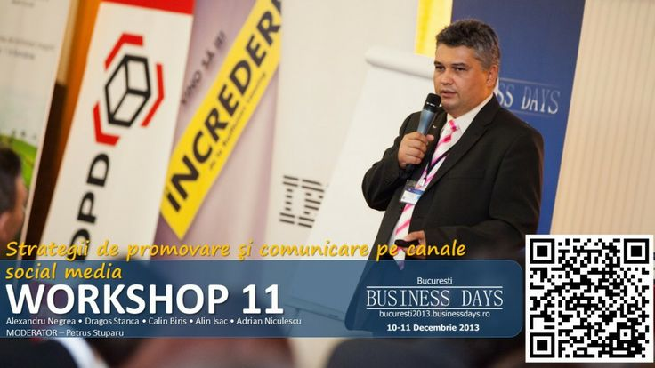 I kindly invite you to Bucharest Business Days, 10-11 December 2013
