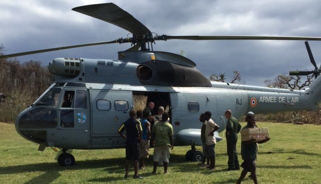 After #CyclonePam hit Vanuatu this year, The UPS Foundation played a crucial role in WFP's relief efforts.