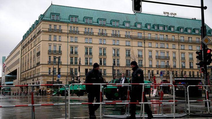 Polizisten, Scharfschützen, ...: Berlin-Mitte wird wegen Obama-Besuch zur Hochsicherheitszone