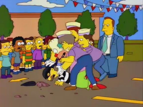 """""""Stop! Stop! He's already dead..."""" The Simpsons"""
