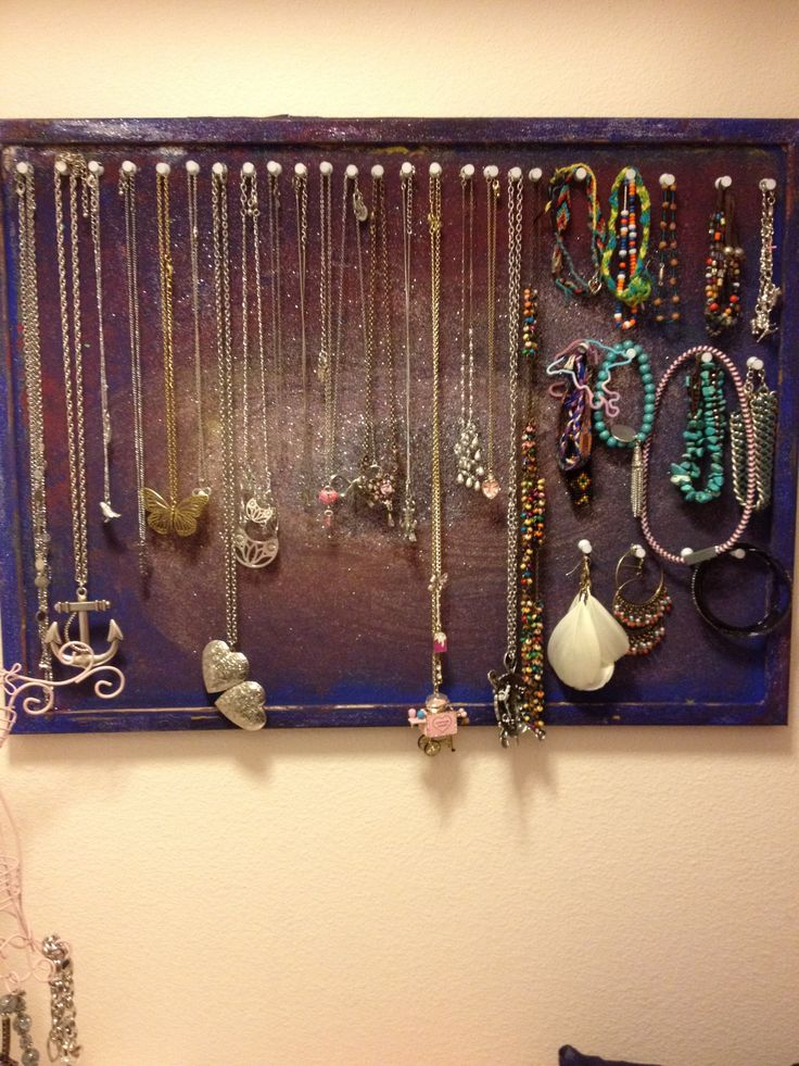 diy painted cork board jewelry holder diy jewelry