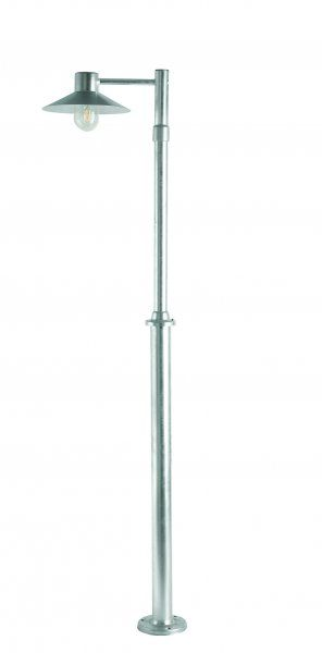 NORLYS Lund galvanised steel light post with single light - Price: $679.00 AUD
