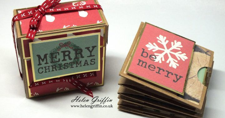 8th Day of Christmas | Mini Album with Cascading Pocket Pages – Helen Griffin