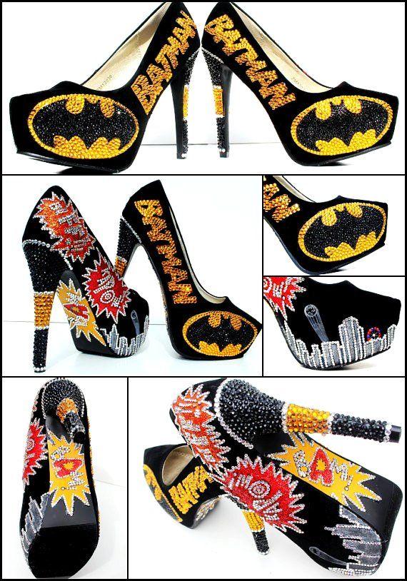 Batman's Girlfriend's shoes