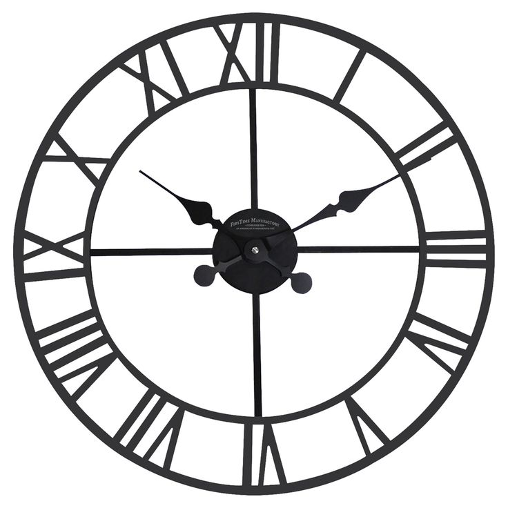 FirsTime Classic Roman Outdoor Clock - 80015