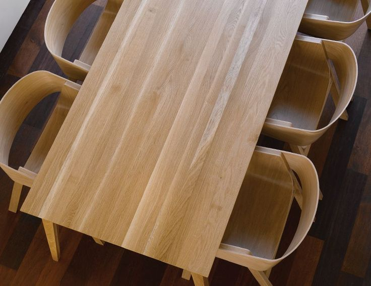 Natural Jutland A Grade Solid European Oak 300 x 120cm Dining Table by Mads Johansen for TON