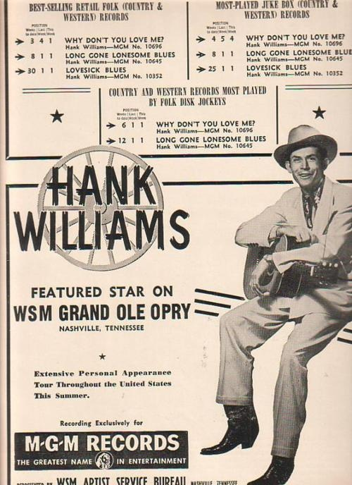 58 best lost highway images on pinterest lost highway hank hank williams vintage country ad fandeluxe Choice Image