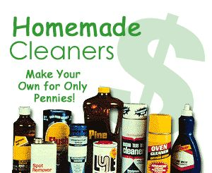 Homemade cleaners for just pennies
