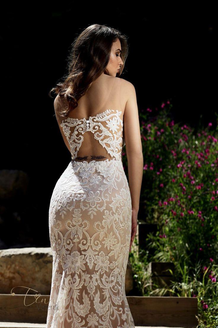 "Charming wedding dress Bella! 🌟 ""Barcelona Dreams"" continues to  amaze... #tinavalerdi #timelessbeauty #barcelonadreams #inspiration #tenderness #nudeperfection #spain #wedding #weddingdress #manufacturer #design #bride #bridetobe #photoshoot #newcollection #dress #nude #fashion #weddingfashion #backstage  #свадьба #невеста #яневеста #венчание #помолвка #жених #свадебноеплатье #новаяколлекция #тинавалерди"