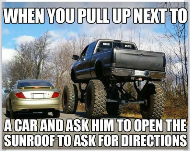 """DieselTees- """"WHEN YOU PULL UP NEXT TO A CAR AND ASK HIM TO OPEN THE SUNROOF TO ASK FOR DIRECTIONS"""" meme 