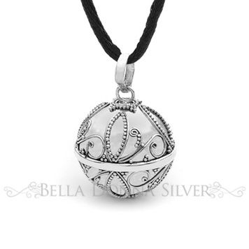 Harmony Ball - LOVE - Bella Donna Sterling Silver