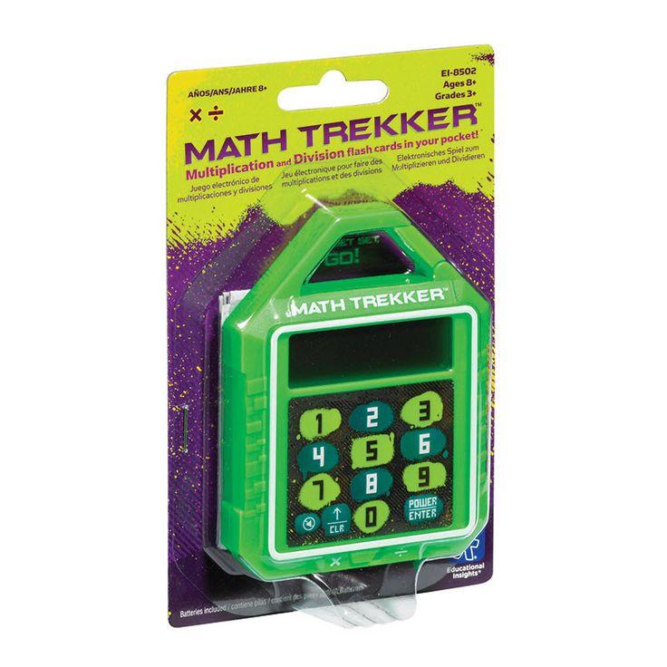 MATH TREKKER MULTIPLICATION /