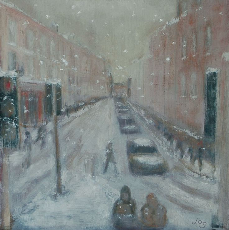 Then The Snow Came by John O'Grady on ArtClick.ie