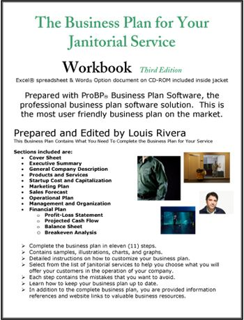 Products and services business plan