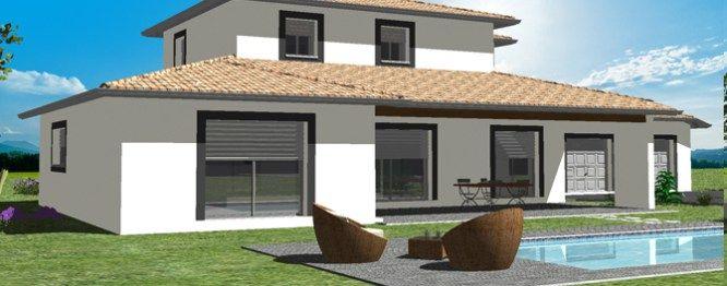 Modeles Et Plans Maisons D En France Sud Ouest Sur Pres De 290m Cette Demeure D Exception Avec Accessi Constructeur Maison Maison Pays Basque Facade Maison