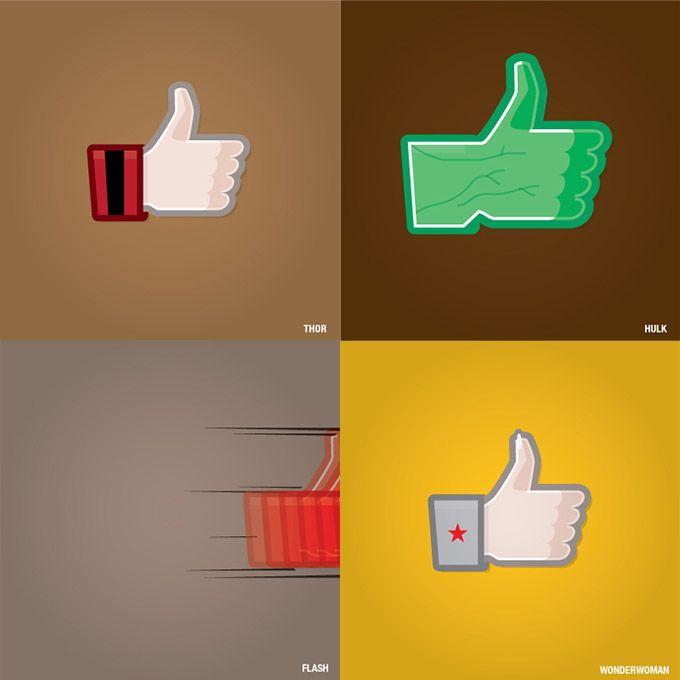 Super Likes: Facebook for Superheroes (III)