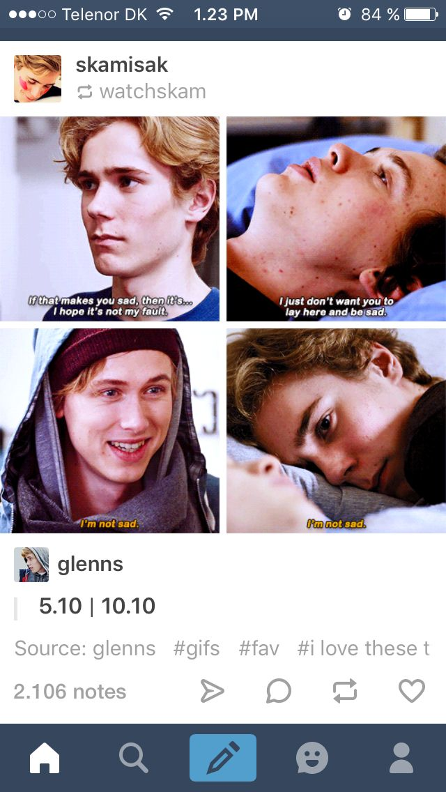 Skam Even and Isak