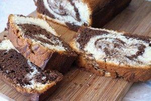 Фото к рецепту: Мраморный кекс как в Старбакс