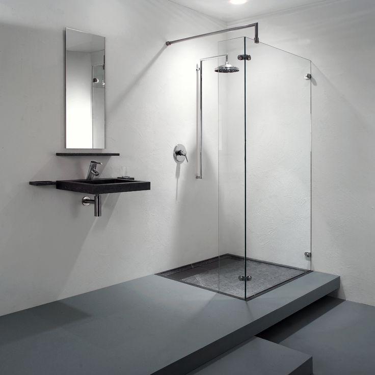 17 beste idee n over badkamer tegels ontwerpen op pinterest douche tegel ontwerpen kleine - Klein badkamer model met douche ...