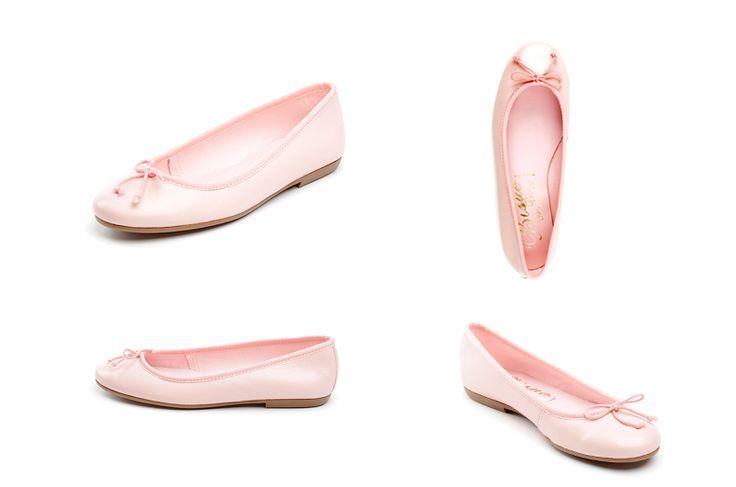 Bailarinas rosa de la marca Bisue. Fotografia: Kinoki studio