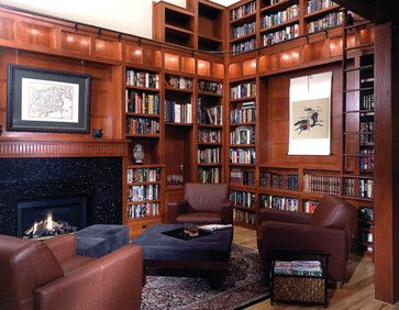 217 best images about craftsman prairie on pinterest for Craftsman style office