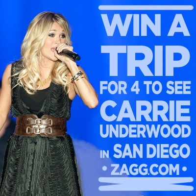 Win a trip for 4 to see Carrie Underwood in San DiegoSan Diego, Contests Sweepstakes, Zaggdaili Giveaways, Http Zagg To Jzr9Zm, Carrie Underwood, Awesome Zaggdaili, Underwood Concerts