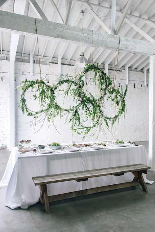 florales colgantes diy para un brunch primaveral de anne sage with decoracion fiesta ibicenca - Decoracion Fiesta Ibicenca