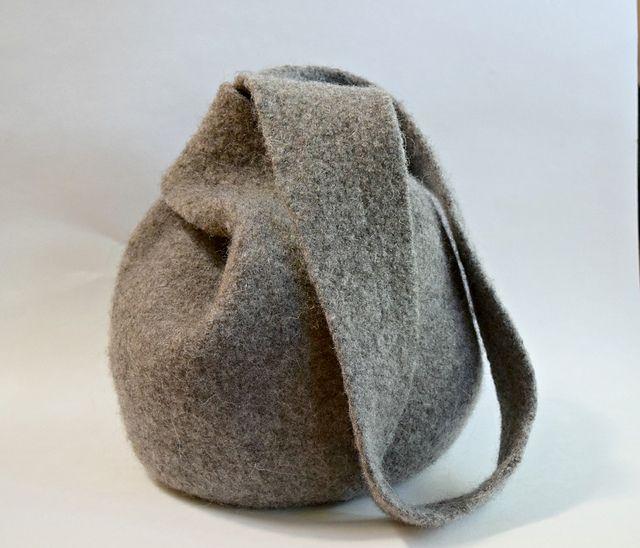 Boho Knot Bag Felted Purse pattern by Cindy Pilon ...