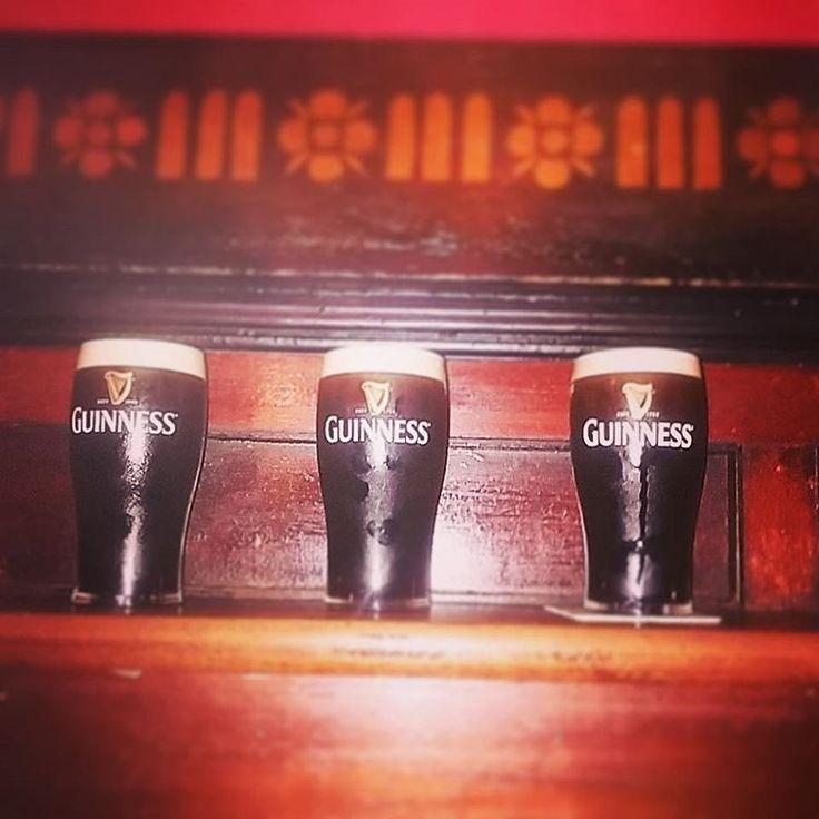All for one, and one for all! #musketeers #guinness #thelonghall #visitireland #visitdublin #dublin #pub #beer #stout #weekend #pints #upforthematch #dubs #three #threesome #ireland #irish #booze #ireland #ireland #bars #pottheblack #theblackstuff #drinksoftheworld #myround #whenindublin #lovindublin