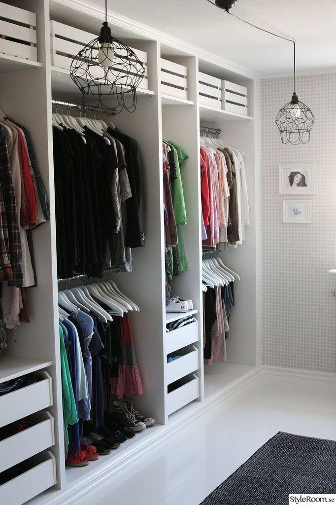 Klädkammare, walk-in-closet, dressingroom