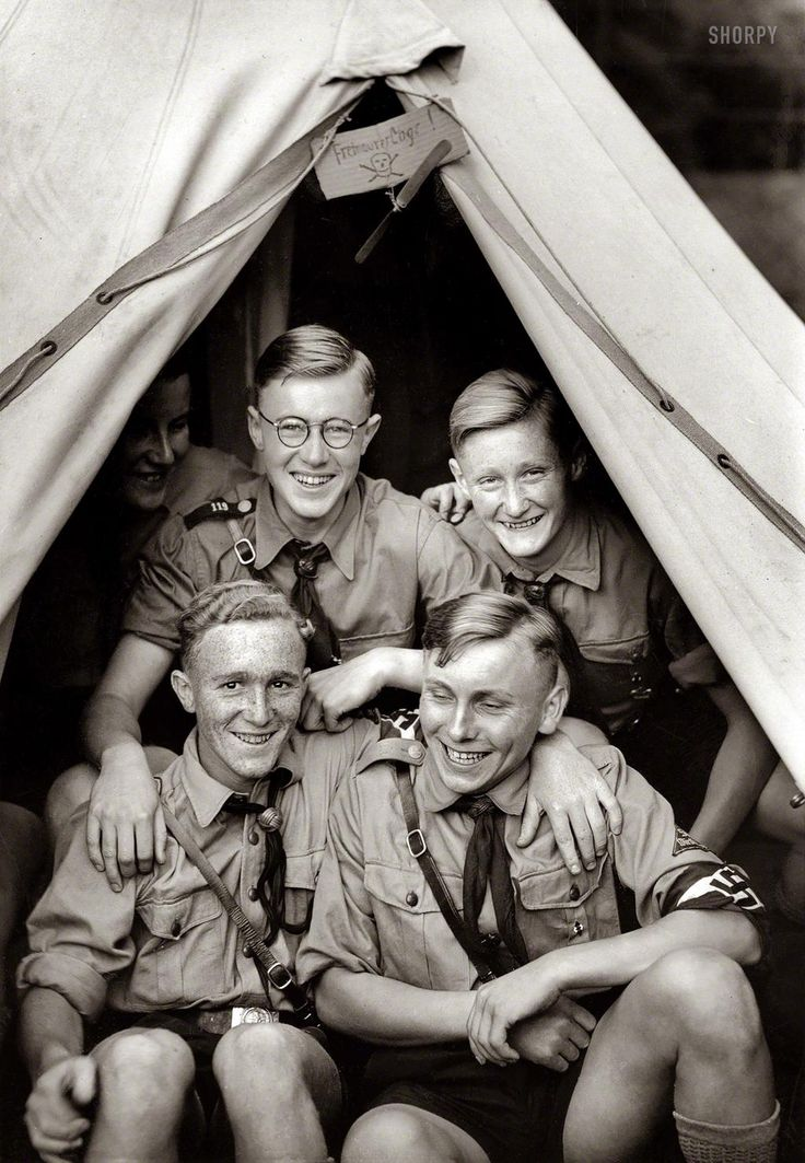 "best hitlerjugend images world war two  "" members of the hitler youth hitlerjugend pose for a photograph in their tent during festivities for the annual national days of foreign germans"