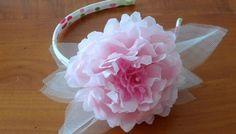 Tutorial: Cerchietti per damigelle con fiori di carta