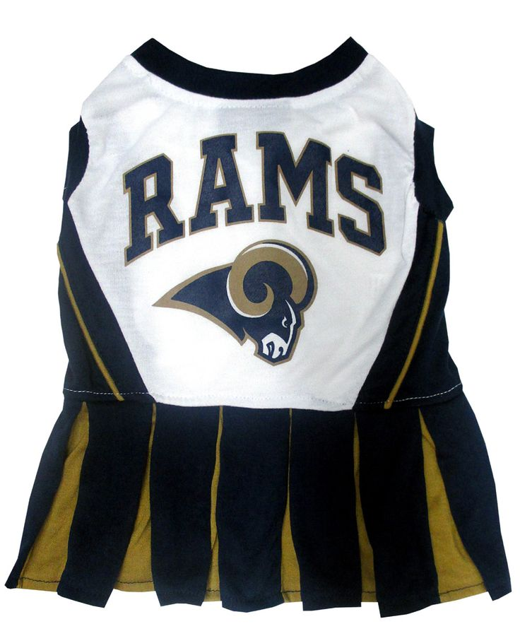 St. Louis Rams CheerLeading Outfit